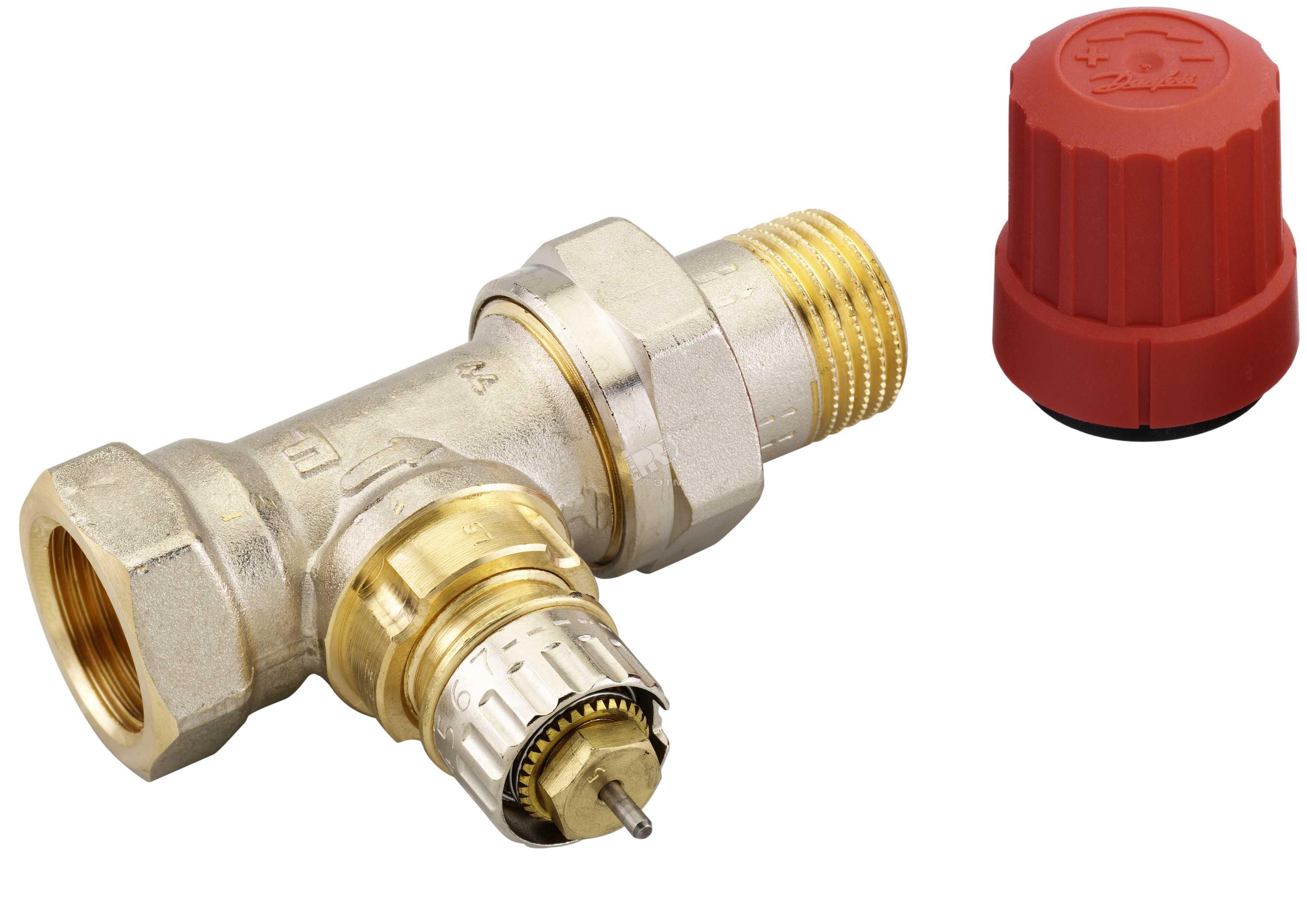 Термостатический клапан honeywell v2000dbb прямой