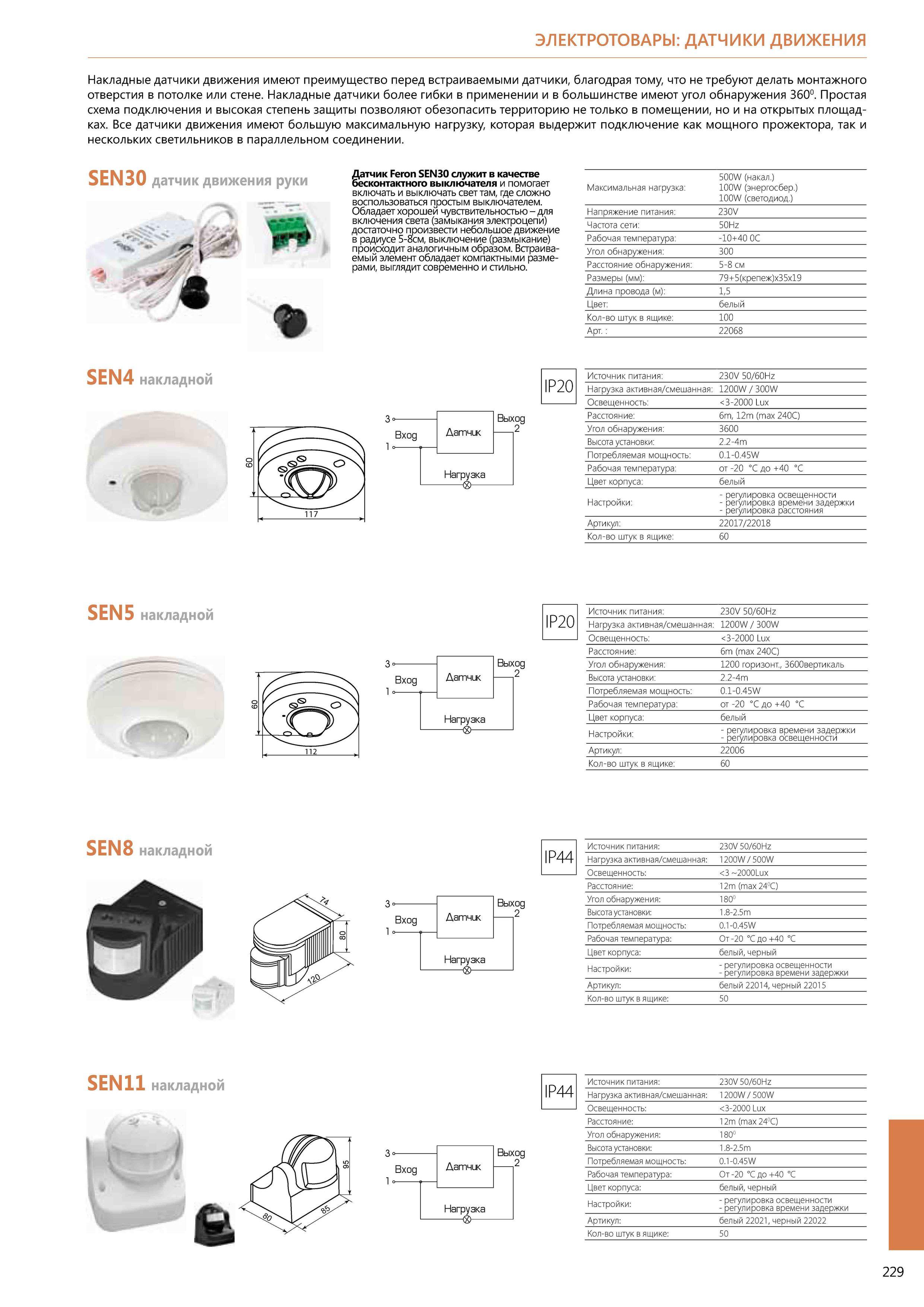 Схема светодиодного светильника с датчиком движения и освещенности