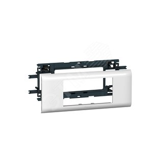 Mosaic Суппорт/рамка на 4 модуля DLP на крышку 65 мм (10954)