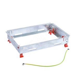 Основание неукомплектованное для монтажа ревизионной напольной коробки стандартное исполнение 8/12 мод.