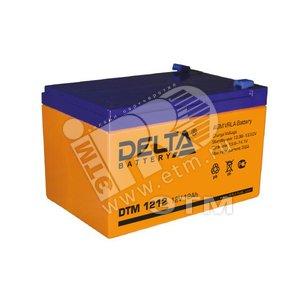 Аккумулятор DTM 12В/12 А/ч (АКБ DTM 1212)