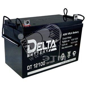 Аккумулятор DELTA 12В/120 А/ч