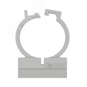 Держатель двухкомпонентный 20 мм для труб