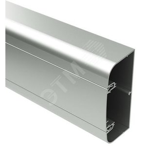 Кабель-канал алюминиевый 110x50 с крышкой белый