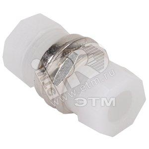 Адаптер проходной FC-FC для одномодового и многомодового кабеля (SM/MM) с полировкой UPC одинарного исполнения (Simplex)