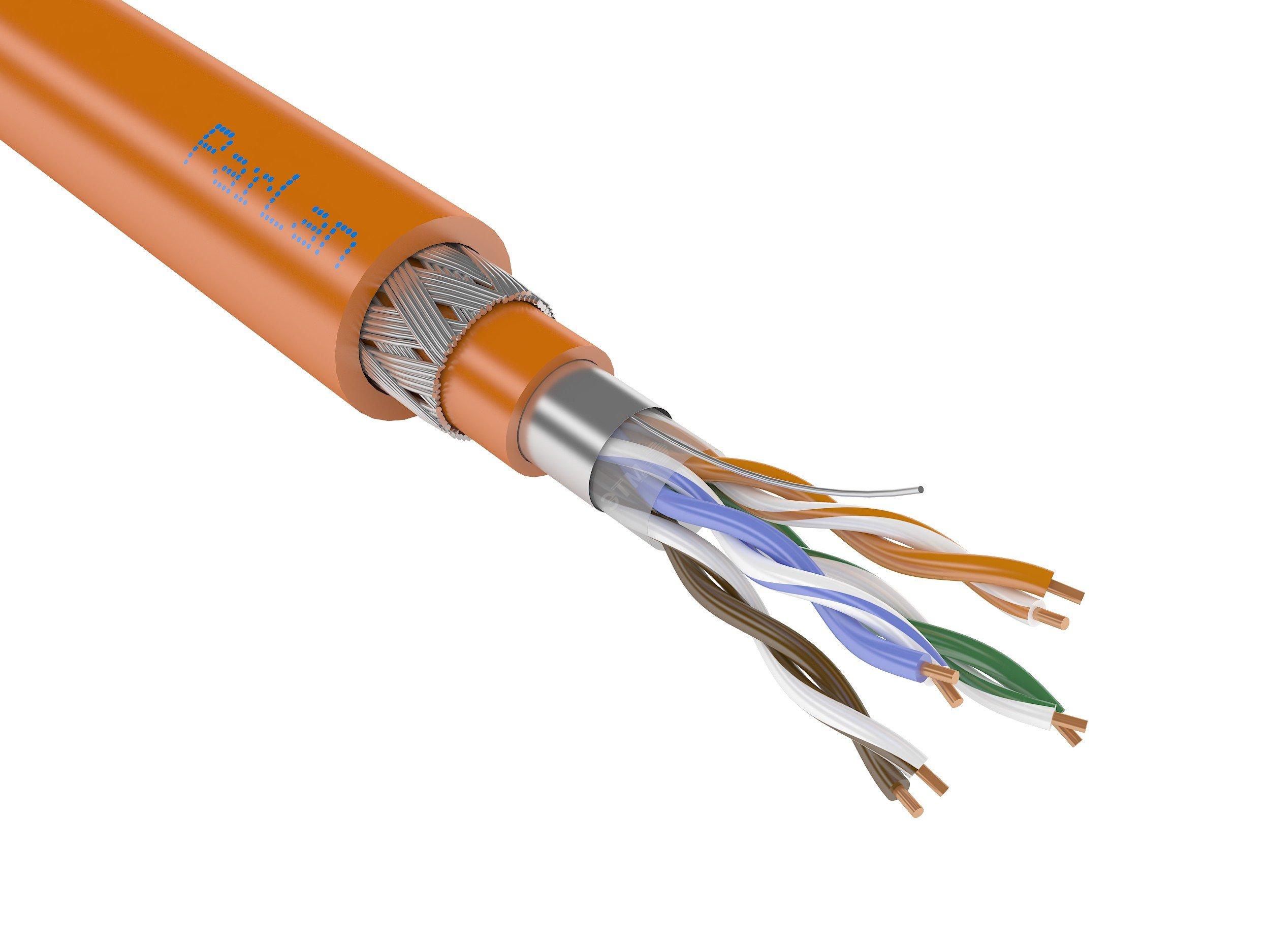 Кабель (провод) ParLan ARM PS F/UTP Cat5e ZH нг(А)-HF 4х2х0,52 ...