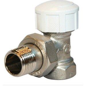 Вентиль термостатический угловой для радиатора 1/2' (RTE 50.011)