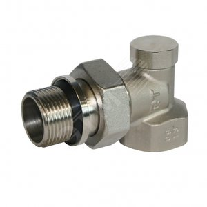 Вентиль на обратную подводку угловой 1/2' (RTO 50.005)