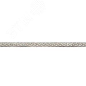 Трос DIN3055 4мм стальной оцинкованный (200м)