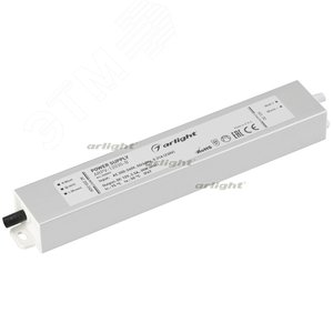 Блок питания ARPV-12030-B (12V, 2.5A, 30W) (ARL, IP67 Металл, 3 года)