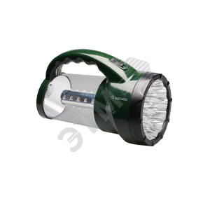 Фонарь-прожектор аккумуляторный KOCAP2008L-LED, 16 LED + 24 LED, аккум. 4V 2Ah, 190Lm, 350Lm, 15 часов, Космос