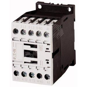 Контактор 7А 230В AC 1НО категория применения AC-3/AC-4, DILM7-10(230V50HZ,240V60HZ) (276550)
