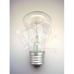 Лампа накаливания местного освещения МО 60вт 36в Е27